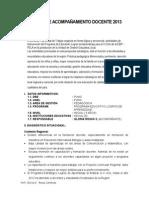 Plan de Acom. Docente Pela 2013 Gloria Rosas c