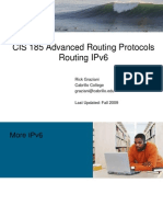 Cis185 BSCI Lecture10 IPv6 Routing
