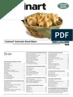 Manual Panificadora cuisinert