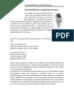 Propuesta de Instrumentos a Utilizar en El Dti