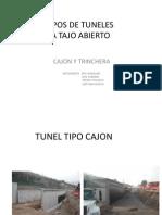 Tipos de Tuneles