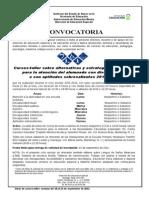 1.2.1 Convocatorias 2011-2012