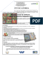 1.2.3 Convocatoria Muestra Software