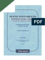 Biblia Interlineal Griego Espanol