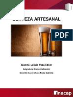 Cerveza Artesanal Alexis Pozo