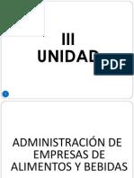 III Unidad La Empresa