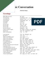 Basic Conversation Mandarin