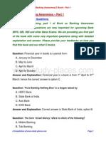 Banking Awareness E Book Part 1