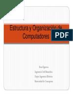 Estructura y Organizacion de Computadores