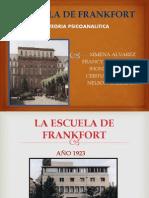 Escuela de Frankfort Teoria Psicoanalitica