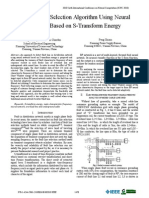 A Fault Line Selection Algorithm Using Neural Network Based on S-Transform Energy