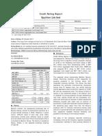 Epyllion Ltd Rating Report 2011