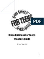 Micro Business Teachers Guide