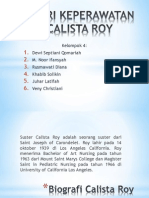 Teori Calista Roy