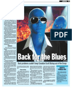 Scott Bishop, Keeping Fit, Sun Media (Sept. 28, 2009)