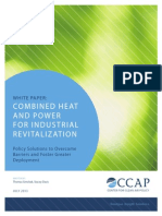 White Paper Combined Heat and Power for Industrial Revitalization CCAP July 20131