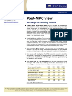 FBN Capital Post-March 2013 MPC View