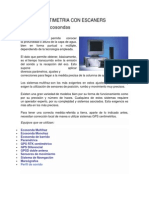 Batimetria Con Escaners