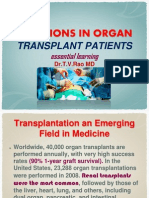INFECTIONS IN ORGAN TRANSPLANT PATIENTS essential learning