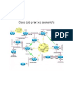 Cisco Lab Practice Scenario