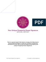 Prosperity Power Signature