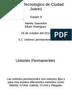 5.2 Uniones Permanentes