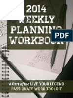 2014Weekly Planning