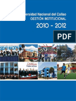Gestion Institucional Unac 2010-2012