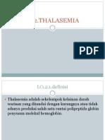 Ppt Definisi Dan Etiologi Thalasemia