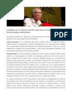 Entrevista Inédita a Daniel Bensaid, Por Jorge Sanmartino