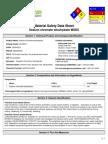 Sodium Chromate Tetrahydrate