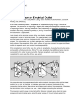 How to Replace an Electrical Outlet - For Dummies