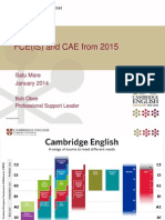 FCE_CAE Revision Cambridge Day Romania