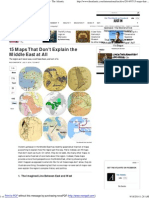 15 Maps That Don't Explain the Middle East at All - The Atlantic