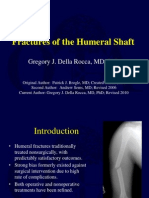 U04 Fxs of Humeral Shaft