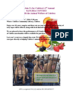 Sangria Contest Benefiting the Work of Animal Welfare of Culebra