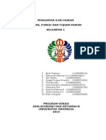 k01-t03-Peran,Fungsi Dan Tujuan Hukum
