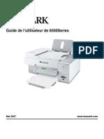 logiciel pour imprimante lexmark x1100