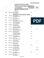 Pages From Third Professional m.b.b.s. Part i Annual Examination, 2013 (Uploaded on 21st December, 2013)