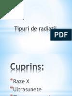 Tipuri de Radiatii