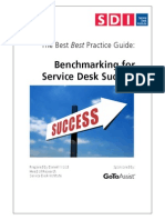 Benchmarking ServiceDesk Success US