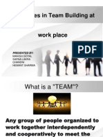 1 Challenges in Team Building a Work Placet Final
