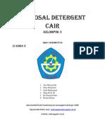 contoh Proposal Detergent Cair