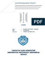 Laporan Praktikum Pemrograman Visual