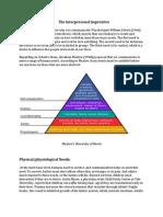 Interpersonal Communication Lesson Summary 2nd L Second Eva.