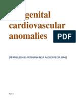 Congenital Cardiovascular Anomalie1