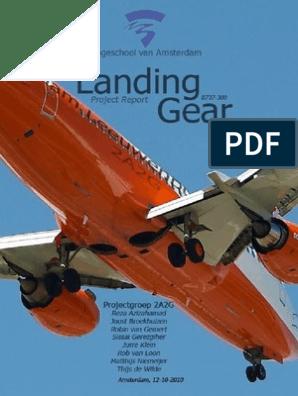 landing gear project report | Landing Gear | Brake