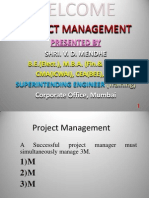 Project Management Presentation,