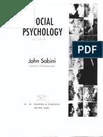 Sabini - Goffman -Self Presentation
