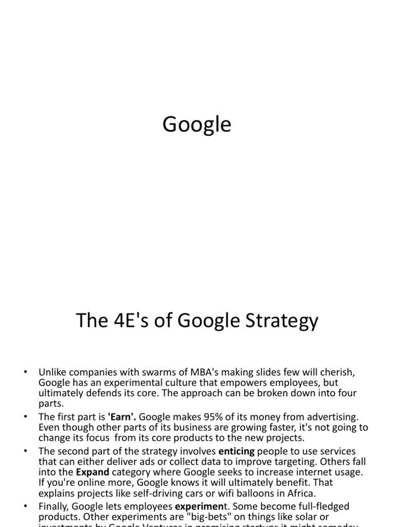 google hr strategy